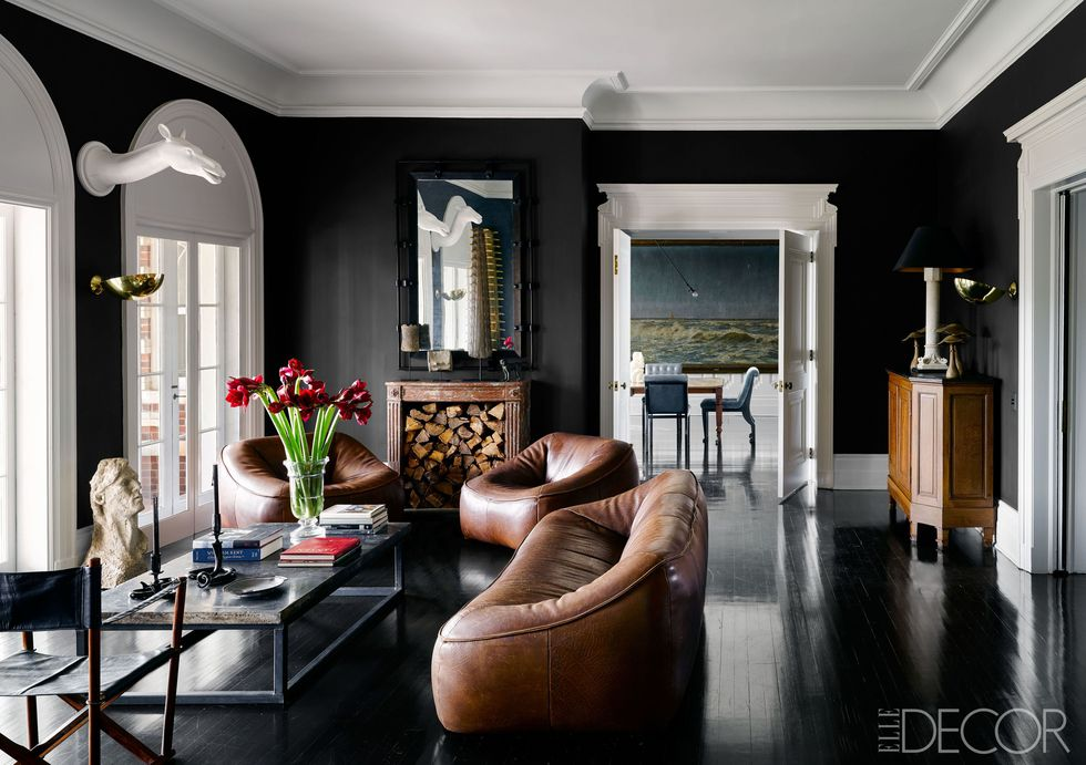 Photo Credit: Tuxedo Park, NY home, Elle Décor