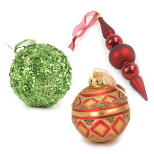 Designer Tree Ornaments