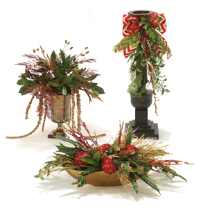 Holiday Table Arrangements