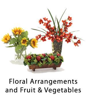 Floral Arrangements and Fruit & Vegetables
