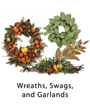 Wreaths, Swags, and Garlands