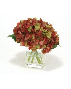 Waterlook® Rose Green Hydrangea Nosegay