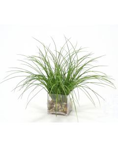 Waterlook® Plastic Grass in Square Clear