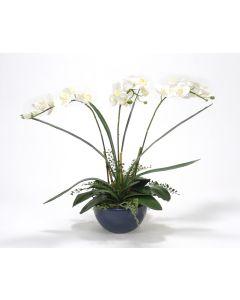 Faux Rose & Orchid Arrangement