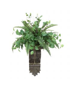 Mixed Greenery with Boston Fern Topper