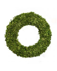 "28"" Preserved Boxwood Round Wreath"