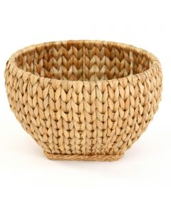 Round Seagrass Basket- Natural