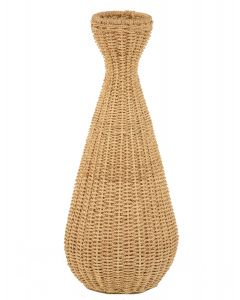 Simple Weave Abaca Vase