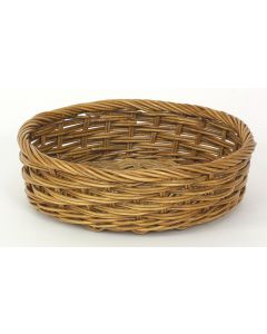 Small Apple Basket Antique Wicker