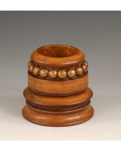 Bracelet Stand Molave with Gold Accent