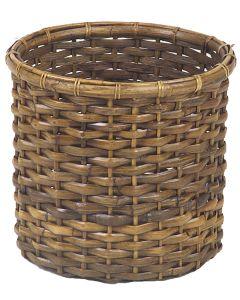 Split Rattan Tree Basket Antique