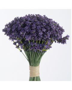 Raffia-Tied Lavender Bouquet (Sold in Multiples of 6)