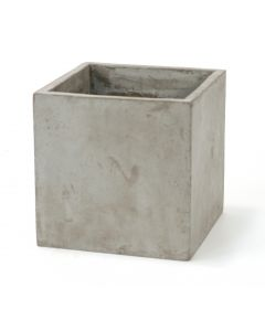 Square Planter in Lite Concrete