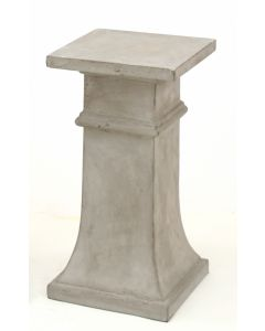 Pedestal Small Concrete Anthracite Light