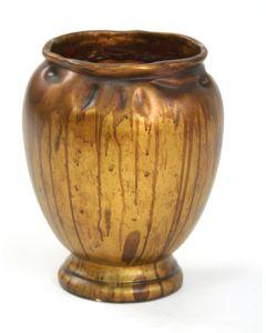 Ginger Jar Vase Handles in Gold