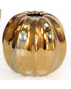 Small Luster Ball Vase in Burnt Gold (Sold in Multiples of 8)