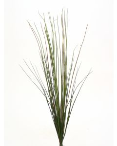 "43"" Plastic River Grass Bush in Green"
