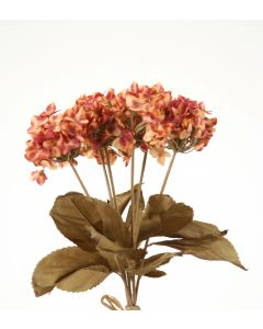 "14"" Mini Hydrangea in Rose Pink (Sold in Multiples of 36)"