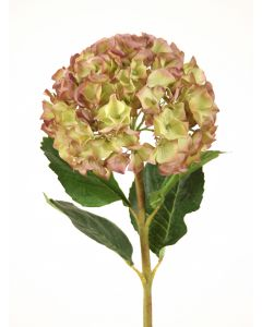 "13"" Large Hydrangea Pick in Amethyst Green (Sold in Multiples of 12)"