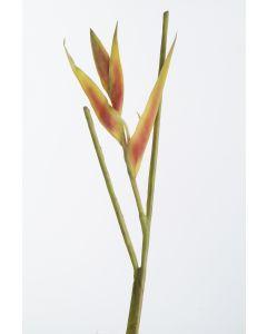"""Heliconia Pick, 24"""" Dark Orange"""