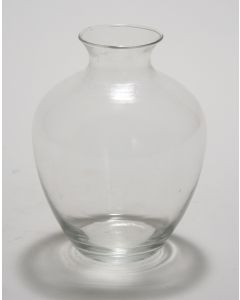 "Medium ""Victoria"" Vase in Clear Glass"