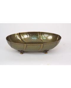 Medium Oval Tray Antique Brass (Sold in Multiples of 10)