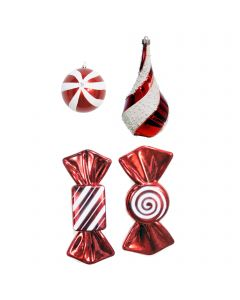 Designer Ornament Group featuring Candy Cane Lane