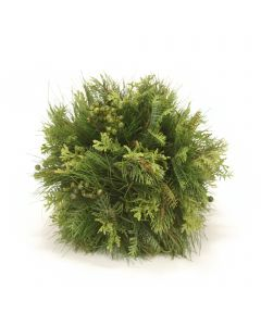 Cedar Pine Ball with Green Berries