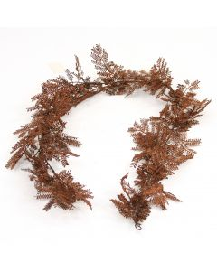 6' Plastic Mimosa Garland X60 Tips Redbrown/Rdbn172 (Sold in Multiples of 6)