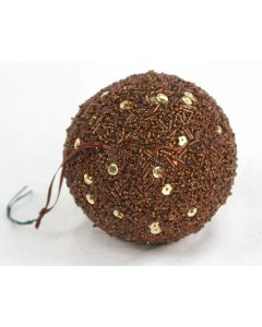 100mm Sequin Ball Ornament