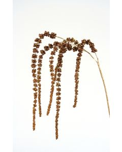 "43"" Hanging Copper and Bronze Glittered Amaranthus Spray"