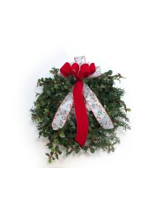 "23"" Holly Wreath"