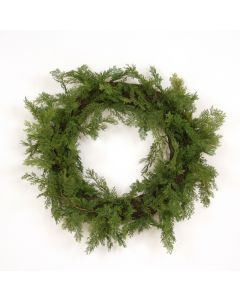Cedar Wreath, Green (Sold in Multiples of 2)