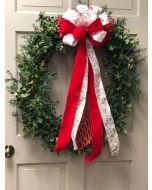 """34"""" Holly Wreath"""