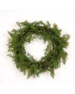Cedar Wreath, Green (Sold in Multiples of 2)