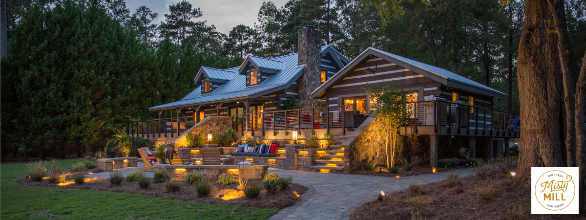 Distinctive Designs is a proud partner and featured in Misty Mill by HGTV's Chip Wade as seen in House Beautiful Magazine